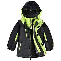 Boys 4-7 ZeroXposur 3-in-1 Heavyweight Hooded Systems Jacket