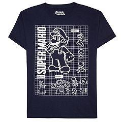 Boys 8-20 Nintendo Super Mario Tee