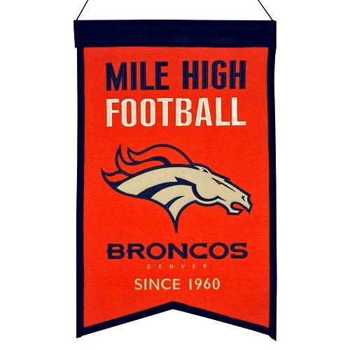 Denver Broncos Franchise Banner
