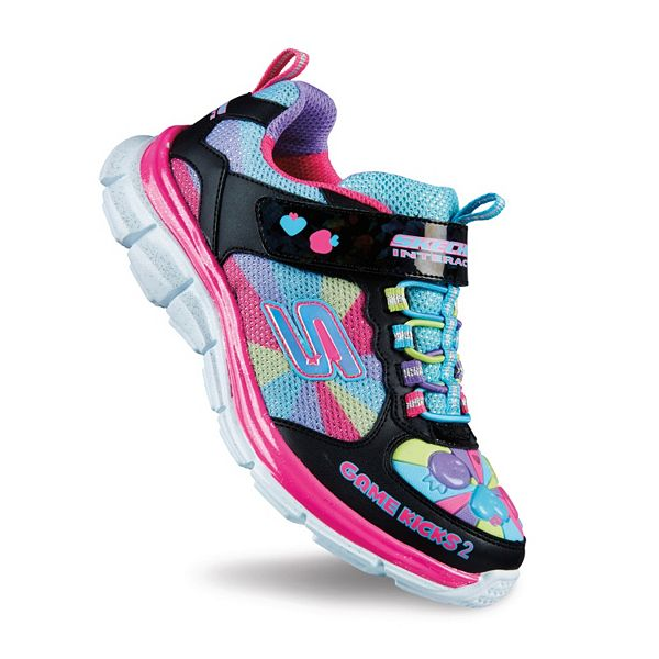 Skechers Game Kicks Juicy Smash 2 Girls Light Up Shoes