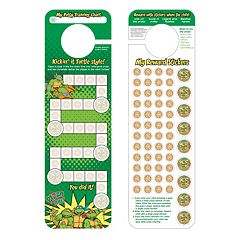 Teenage Mutant Ninja Turtles Potty Training Chart & Stickers