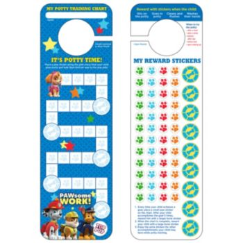 Paw Patrol Potty Training Chart & Stickers