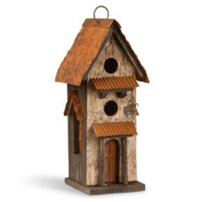 """National Tree Company 13"""" Birdhouse Decor"""