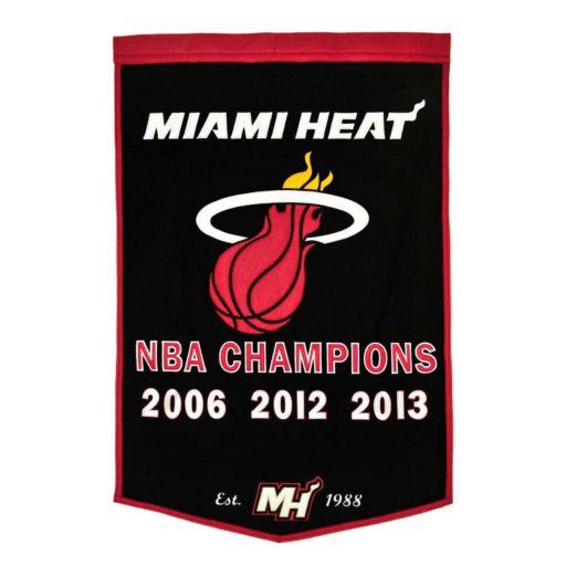 Miami Heat Dynasty Banner