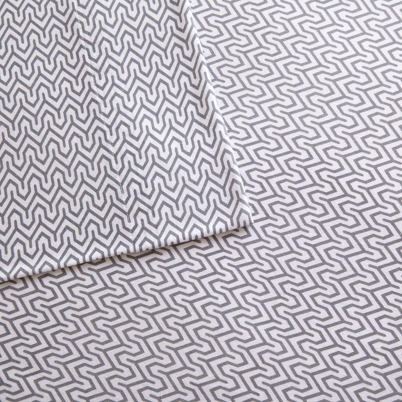 intelligent design cotton blend jersey knit sheet set - Jersey Knit Sheets