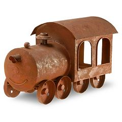 National Tree Company 14' Metal Train Lawn Ornament