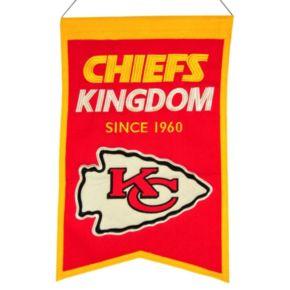 Kansas City Chiefs Franchise Banner
