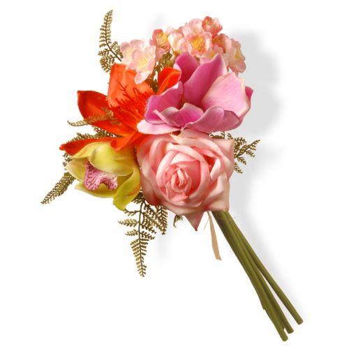 National Tree Company 13 Artificial Mixed Blossom Bouquet