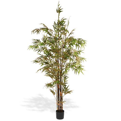 National Tree Company 7 Ft. Artificial Potted Japanese Bamboo Tree