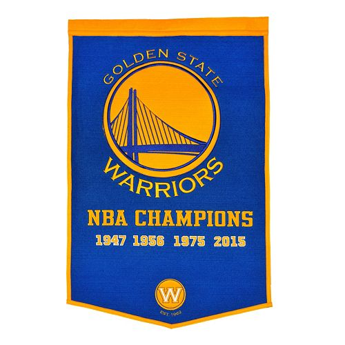 Golden State Warriors Dynasty Banner