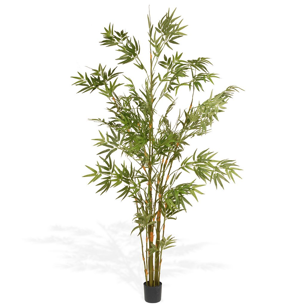 National Tree Company 6 Ft. Artificial Potted Japanese Bamboo Tree