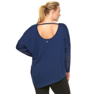 Plus Size Gaiam Karma Drop-Shoulder Tunic