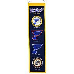 St. Louis Blues Heritage Banner