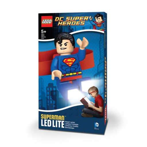 LEGO DC Comics Superman Head Lamp by Santoki