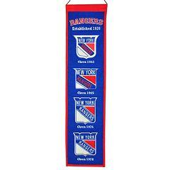 New York Rangers Heritage Banner
