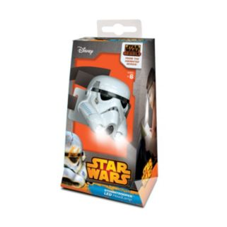 Star Wars Rebels Stormtrooper Head Lamp by Santoki