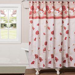 Saturday Knight, Ltd. Poppy Field Shower Curtain