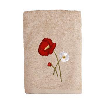 Saturday Knight, Ltd. Poppy Field Bath Towel