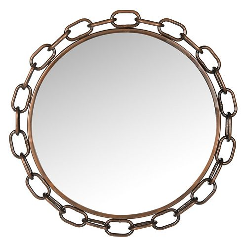 Safavieh Atlantis Chain Link Wall Mirror