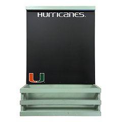 Miami Hurricanes Hanging Chalkboard