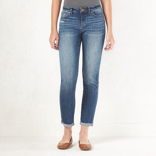 Women's LC Lauren Conrad Ripped Skinny Jeans