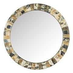 Safavieh Etienne Faux Tigers Eye Wall Mirror