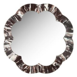 Safavieh Fleur Faux Tigers Eye Wall Mirror