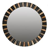 Safavieh Deco Faux Tigers Eye Wall Mirror