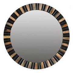 Safavieh Deco Faux Tigers Eye Wall Mirror