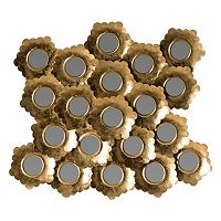 Safavieh Golden Coral Wall Mirror