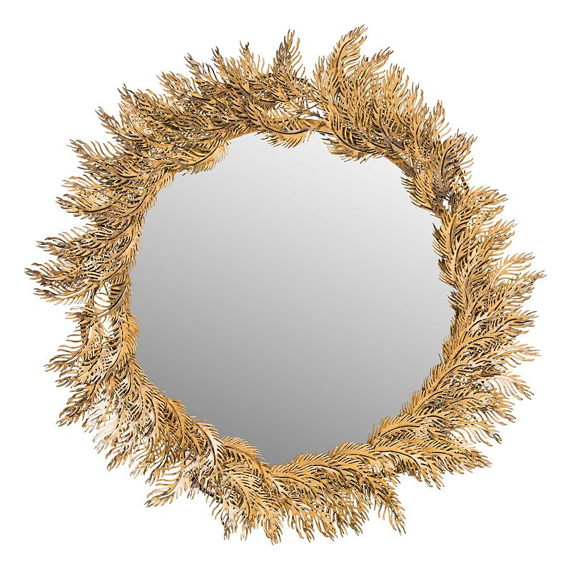 safavieh shana feather wall mirror