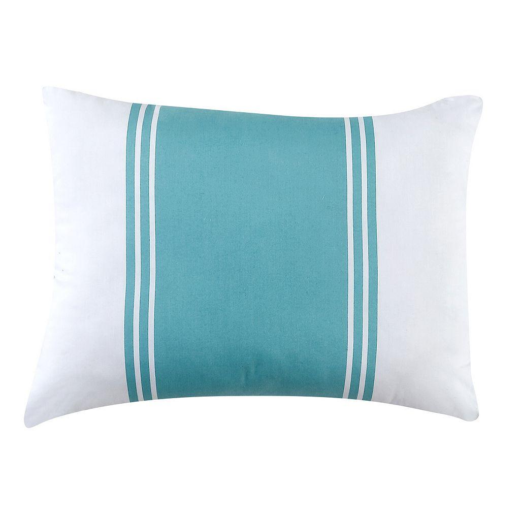 Fiesta Cabana Stripe Oblong Throw Pillow