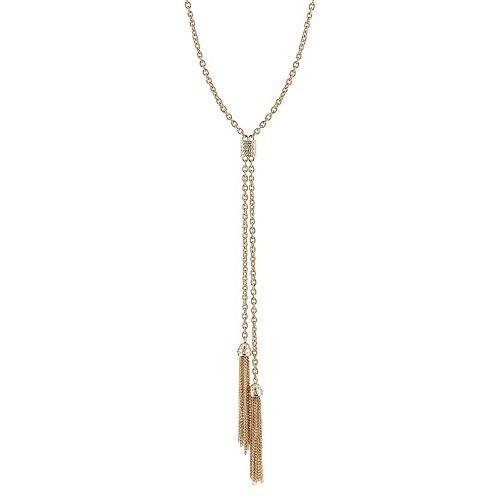 1928 Tassel Y Necklace