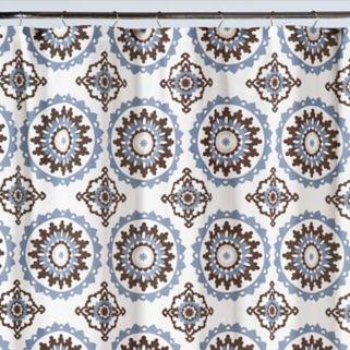 Saturday Knight, Ltd. Suzette Shower Curtain