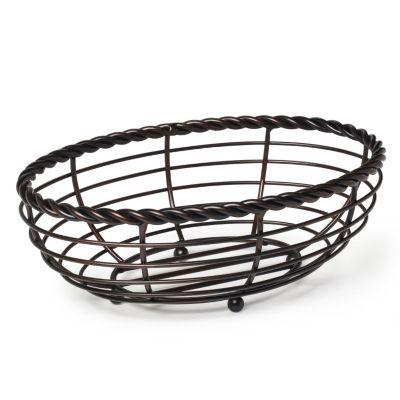 Mikasa Gourmet Basics Rope Oval Bread Basket