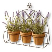 National Tree Company 17' Artificial Potted Lavender Plant 3 pc Set