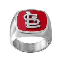Men's Stainless Steel St. Louis Cardinals Ring