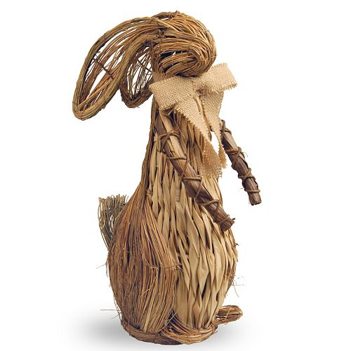 "National Tree Company 20"" Country Rabbit Table Decor"