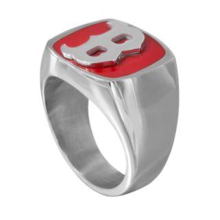 Men's Stainless Steel Boston Red Sox Ring