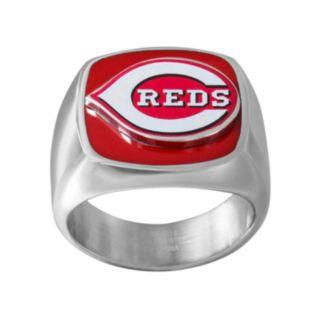 Men's Stainless Steel Cincinnati Reds Ring