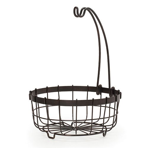 Mikasa Gourmet Basics General Store Centerpiece Basket