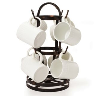 Mikasa Gourmet Basics Rotating Mug Tree