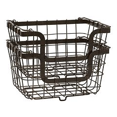 Mikasa Gourmet Basics 2-pc. General Store Basket Set