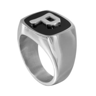 Men's Stainless Steel Pittsburgh Pirates Ring