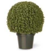 "National Tree Company 22"" Artificial Mini Boxwood Ball Plant"