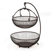Mikasa Gourmet Basics Sprindle 2 tier Basket