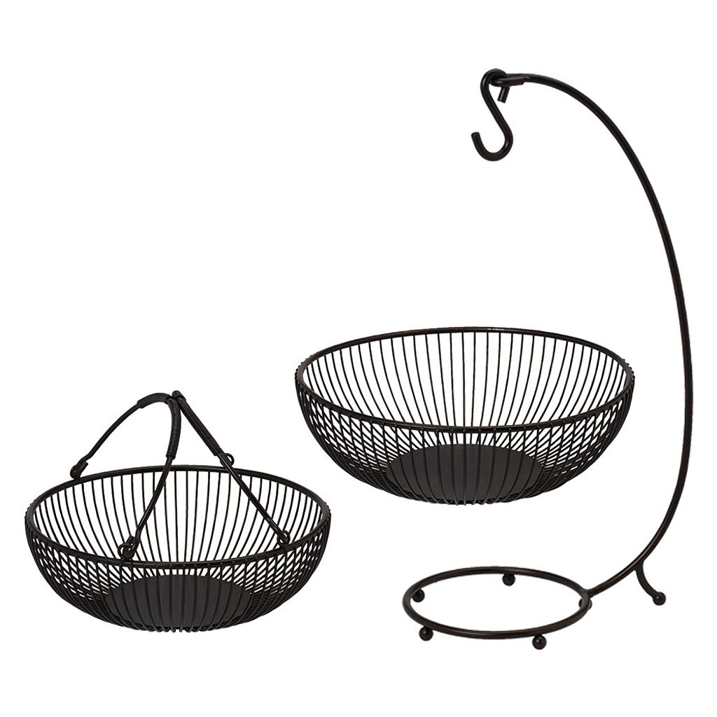 Mikasa Gourmet Basics Sprindle 2-Tier Basket