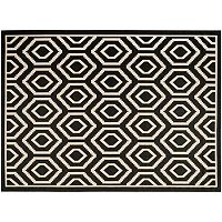 Safavieh Courtyard Tribal Geometric Indoor Outdoor Rug