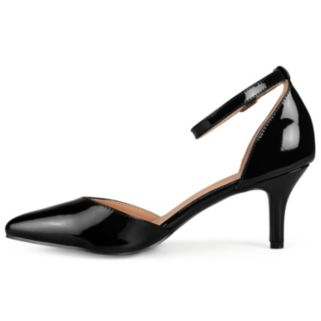 Journee Collection Ike Women's Patent Leather High Heels