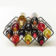 Gourmet Basics 12-Bottle Stackable Wine Rack